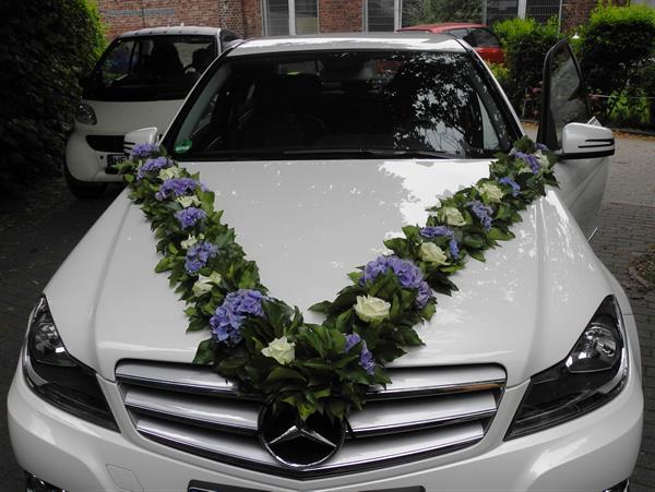 Autoschmuck Für Hochzeit Blüten Zauber Velbert